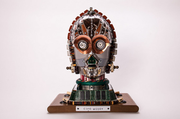 C3PO--s-Head-Made-From-Computer-Components