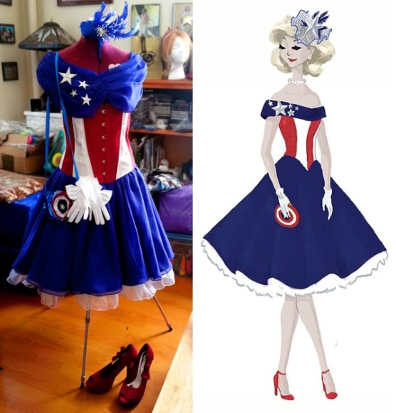 captain-america-dress-top