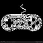 Camiseta que deveria ser o uniforme de qualquer jogador de videogame
