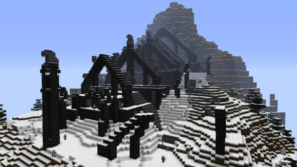 MinecraftSkyrim01