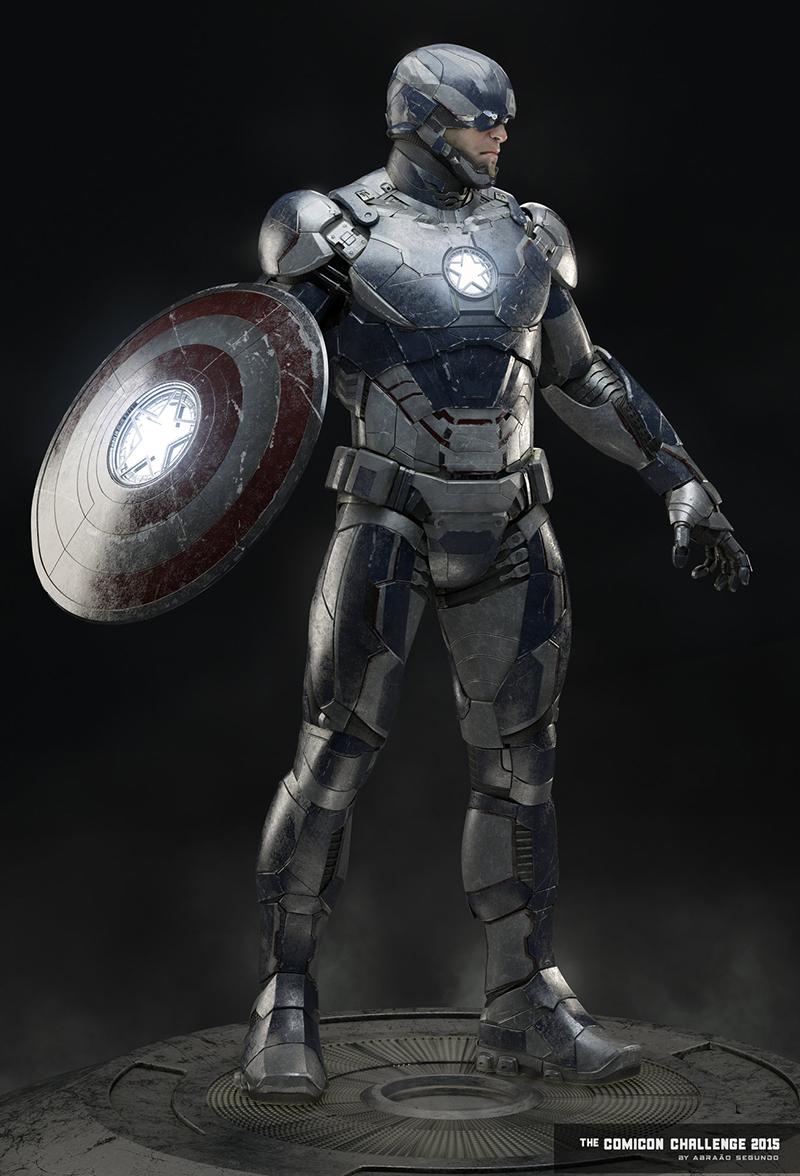 captain-america-captain-style-iron-man-armor-captain-iron1