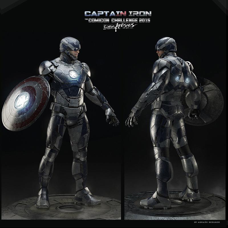 captain-america-captain-style-iron-man-armor-captain-iron3