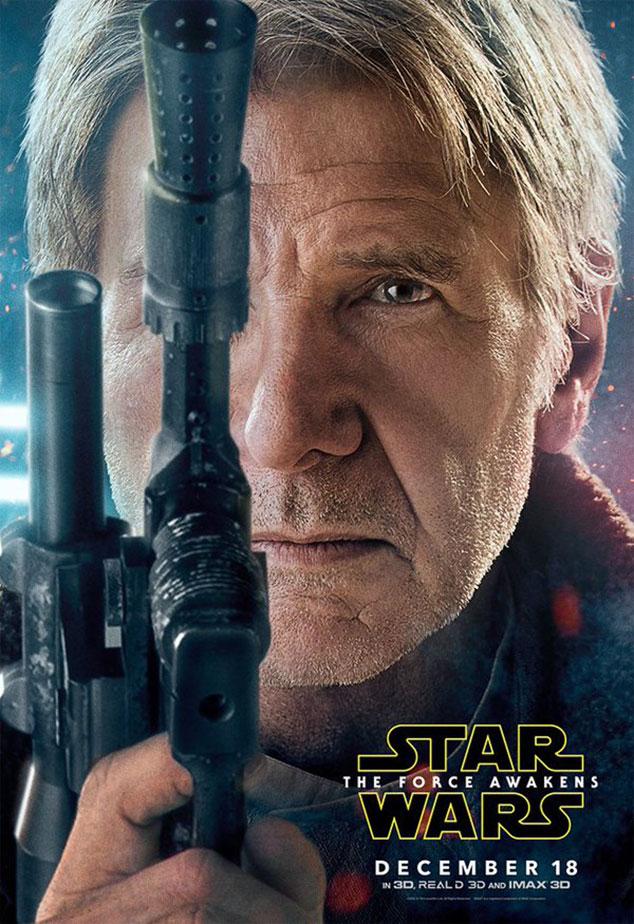 O Despertar da Força - Poster Han Solo