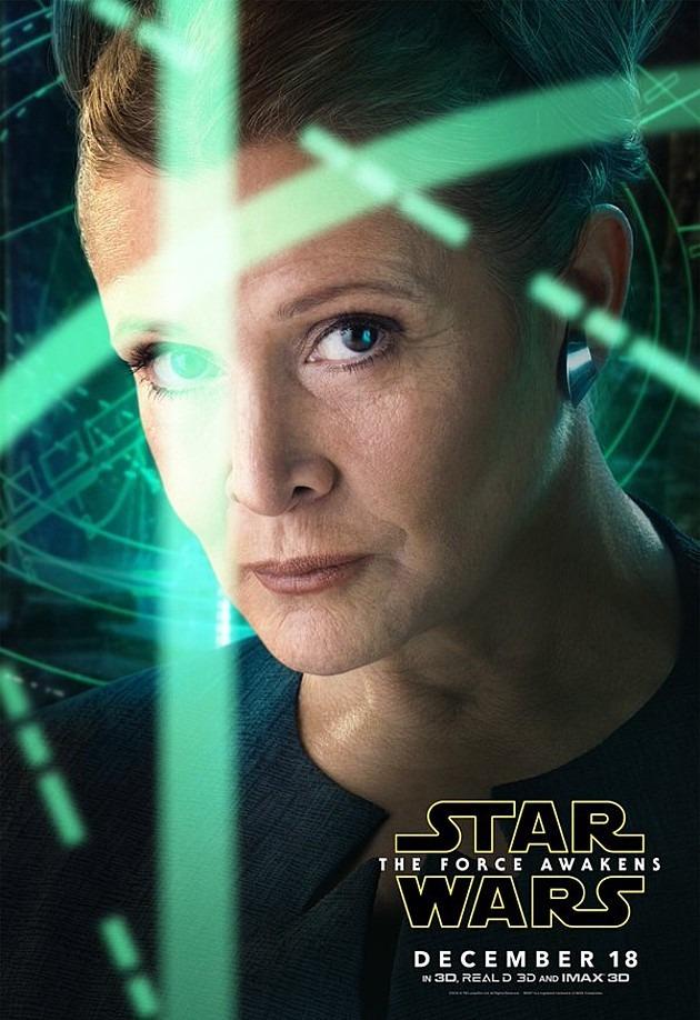 O Despertar da Força - Poster Leia