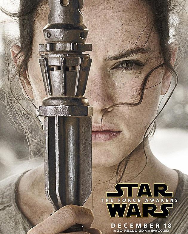 O Despertar da Força - Poster Rey