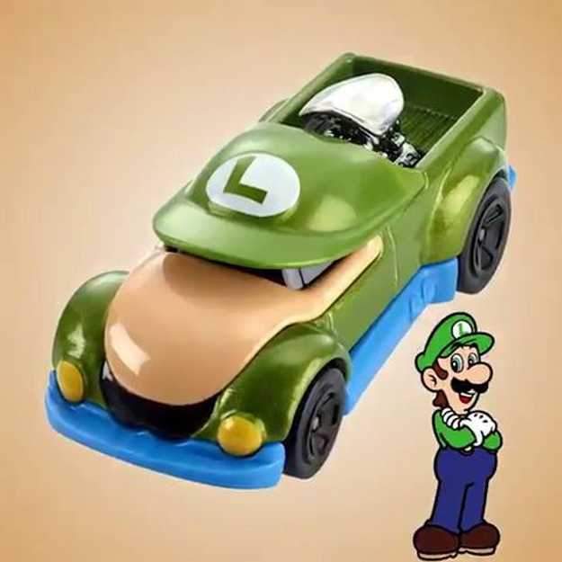 Luigi-hot-wheels