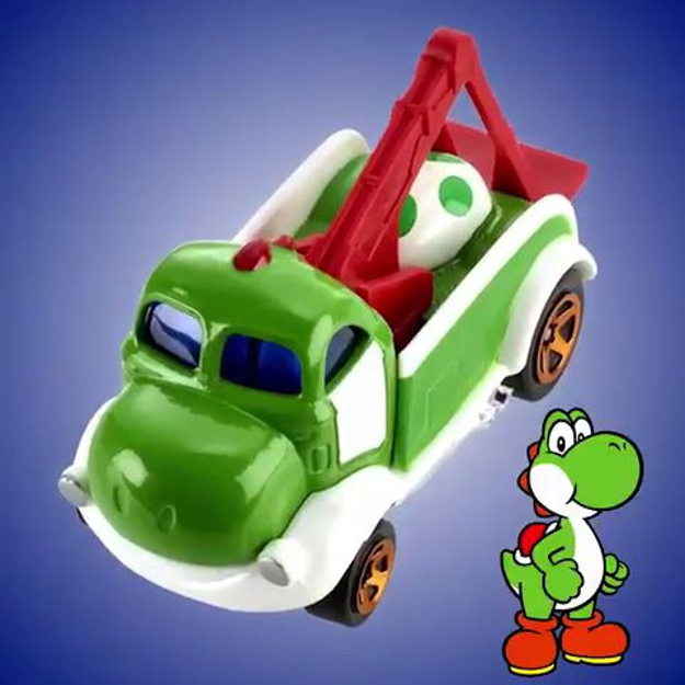 Yoshi-hot-wheels