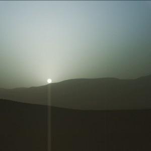 Pôr-do-Sol em Marte